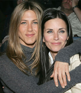 Courteney Cox to celebrate Globe nod with Jennifer Aniston