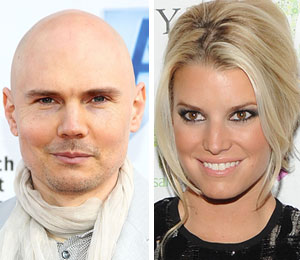 Billy Corgan is too good for Jessica Simpson?!