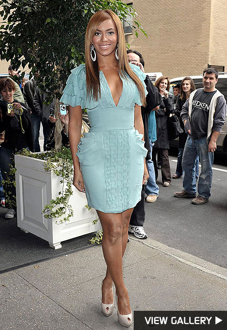 beyonce manhattan photos