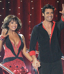 Gilles Marini and Cheryl Berke on Dancing with the Stars