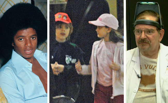Who is the biological father of Michael Jackson's kids?