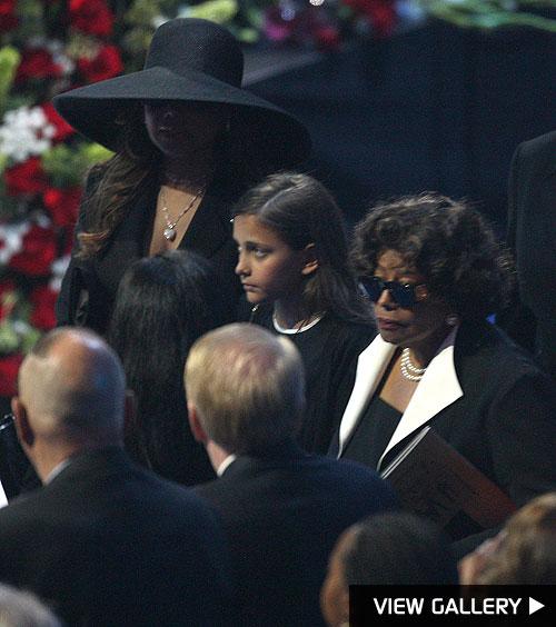 inside michael jackson's memorial service