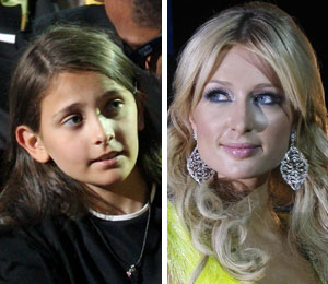 Was Michael Jackson's daughter Paris Katherine named in honor of socialite Paris Hilton?