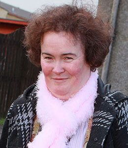 Extra is with Susan Boyle at Britain's Got Talent