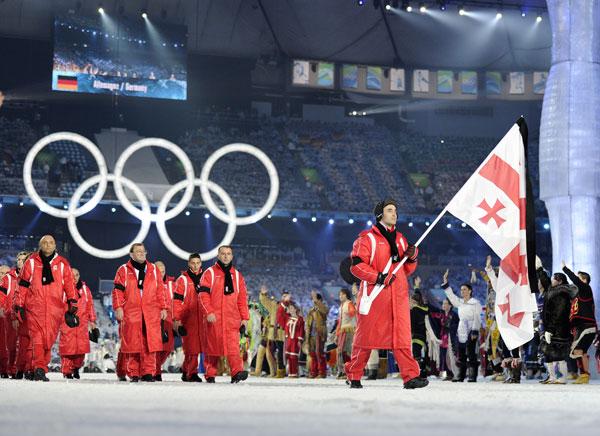 Olympics Opening Ceremony Honors Nodar Kumaritashvili