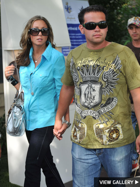 Jon Gosselin and girlfriend Hayley Glassman in France