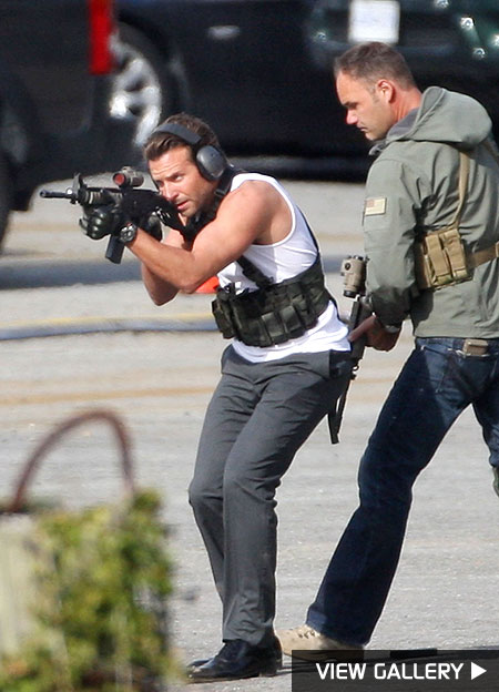 bradley cooper gun photos