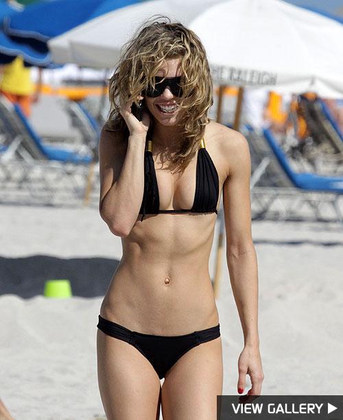 annalynne mccord beach bikini body
