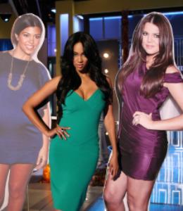 Kim Kardashian Tyra Banks Halloween