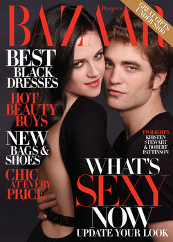 Kristen Stewart Robert Pattinson Twilight New Moon Harper's Bazaar