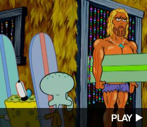 SpongeBob Squarepants vs The Big One featuring Johnny Depp