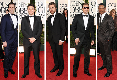 2011 golden globes best dressed men