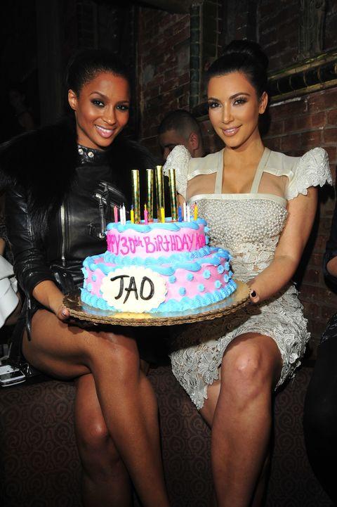Kim Kardashian And Ciara Extratv