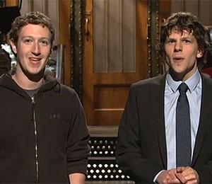 Watch Mark Zuckerberg on 'SNL'!
