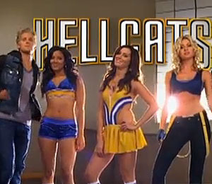 'Hellcats' Cheerleading PSA for the Super Bowl