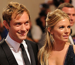 Jude Law and Sienna Miller Split -- Again