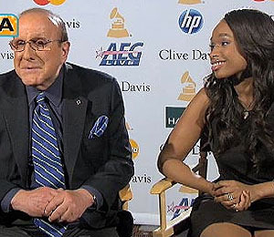 Video: Clive Davis Gives 'Extra' the Scoop on his Pre-Grammy Bash