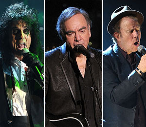 Cooper, Diamond, Waits Inducted into Rock and Roll Hall of Fame