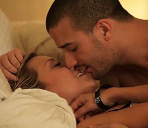 Mark Ballas and Chelsea Kane in 'Hot' Music Video