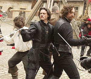 Trailer! Swordplay in 'The Three Musketeers'