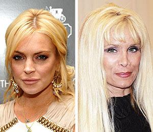 Extra Scoop: Lindsay Lohan Handpicked by Victoria Gotti