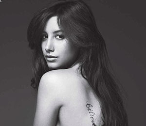 Ashley Tisdale Nude in Allure