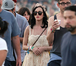 Photos! Katy Perry Joins the Stars at Coachella
