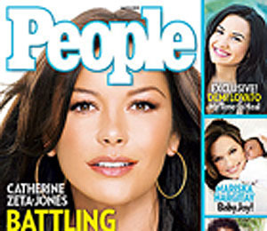 Extra Scoop: Catherine Zeta-Jones: 'There is No Need to Suffer Silently'