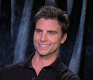 Colin Egglesfield Smitten with 'Extra' Correspondent!