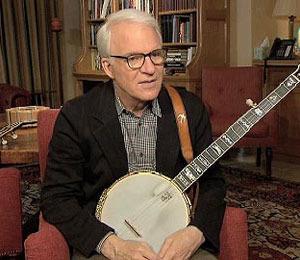 Steve Martin: An Accomplished Banjo Player!