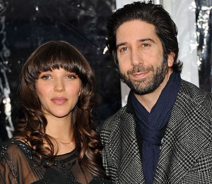 David Schwimmer is a Dad