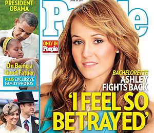 'Bachelorette' Ashley's Heartbreak: 'I Got Played' by Bentley