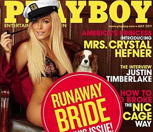 Hef's Revenge: New Playboy Cover for Ex!