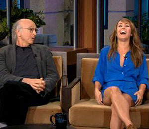 'Bachelorette' Ashley in Jay Leno's Hot Seat