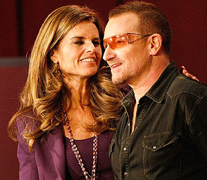 Video! U2's Shout-Out to Maria Shriver