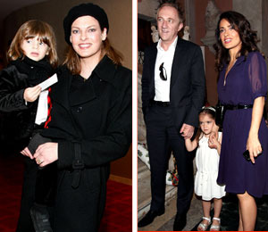 Who's Your Daddy? Linda Evangelista Seeks Child Support from Salma Hayek's…