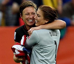 Photos! U.S. Women's Soccer Team