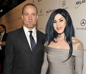 That's That for Tat Brats; Jesse James and Kat Von D Split
