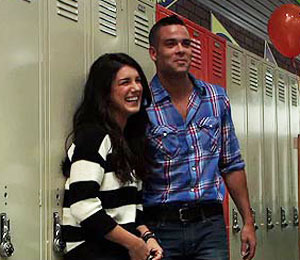 Video! Going Back to School with Mark Salling and Shenae Grimes