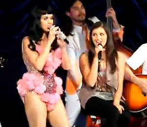 Video: Rebecca Black Performs with Katy Perry