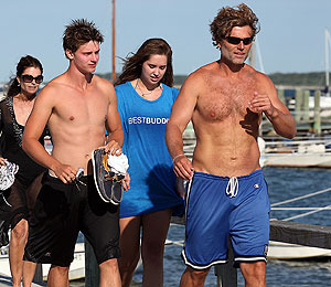 Vote! Who Wins Best Bod in the Shriver / Schwarzenegger Family?
