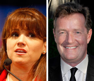 Extra Scoop: Christine O'Donnell Walks Out on Piers Morgan