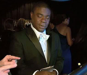 In the HP Touchsmart Gift Lounge: Tracy Morgan