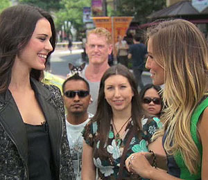 'Extra' Raw! Odette Annable Talks 'House' at The Grove!