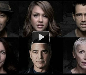 Video! Clooney, Bono Drop the 'F-Word' in New PSA