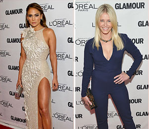 J.Lo, Handler, and Laura Bush Honored at Glamour Women of the Year Awards