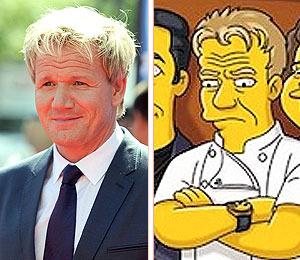 Exclusive Sneak Peek! Chef Gordon Ramsay Gets 'Simpsonized'