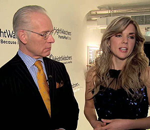 'Extra' Raw! Tim Gunn's 'The Revolution' Helps Weight Watchers Winner