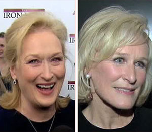 'Extra' Raw: Meryl Streep and Glenn Close Arrive to NYC Premieres