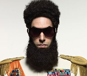 Trailer! Sacha Baron Cohen in Bed with Megan Fox in 'The Dictator'